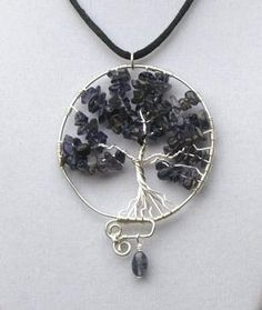 Looking for jewelry project inspiration? Check out Tree of Life Pendant by member holly.ross.05. - via @Craftsy