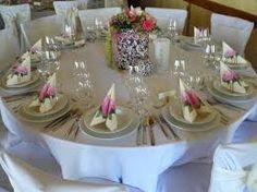 """Képtalálat a következőre: """"esküvői asztal terítő bérlés"""""""