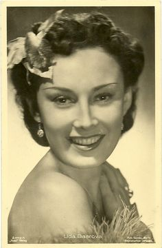 Postcard Schauspielerin Lida Baarova, Ross Verlag A buy now for only - postally unused, excellent condition Joseph Goebbels, Hollywood Dress, Film Industry, Famous Women, Feature Film, Pin Up, The Past, Actresses, Actors