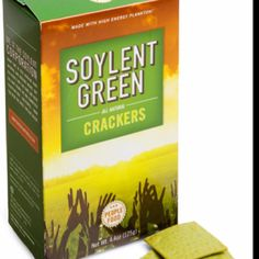 Soylent Green Crackers, it's people food!  (I still remember this movie!)