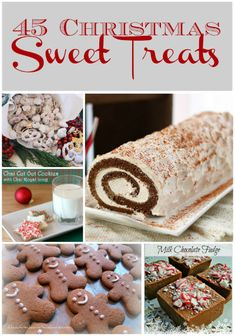 Christmas Sweet Treats Collage SM