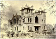 Town hall Lahore in 1890
