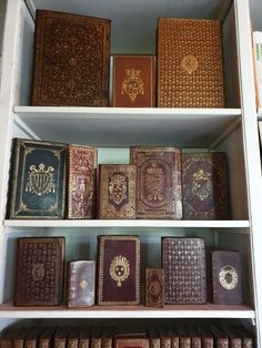 Discover recipes, home ideas, style inspiration and other ideas to try. Binding Covers, Book Binding, Book Cover Design, Book Design, Old Lamps, Vintage Book Covers, Leather Books, Book Images, Book Aesthetic