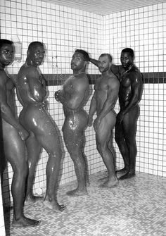 Pity, that Black girl nude public shower you