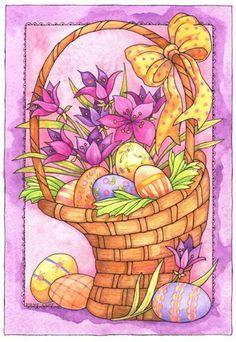 12x18 Garden Flag Artist Diane Knott by bethkimble on Etsy, $11.00