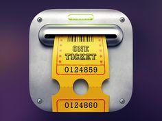 Slot-Machine Icon - by Artem Borysenko | #ui
