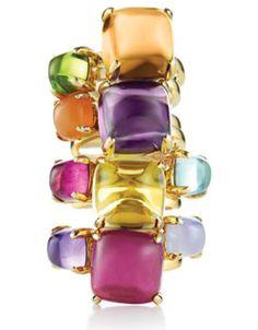 Paloma Picasso Sugar Stack rings - Tiffany & Co.