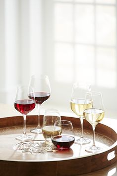 Here's a clear choice for the perfect Mother's Day gift: Give her a set of Pier 1's lead-free crystal wine glasses, made by German glassmakers Schott Zwiesel.