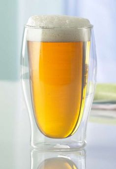 Keep your beer cold hours longer than ordinary glasses!