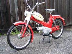 Moped Photo Gallery - Sears Allstate Antique Motorcycles, Cars And Motorcycles, Moped Motorcycle, Power Bike, Hell On Wheels, Motor Scooters, 50cc, Classic Bikes, Sport Bikes