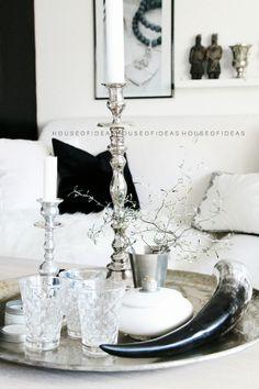HOUSE of IDEAS pillow, black&white,  http://myhouseofideas.blogspot.de/