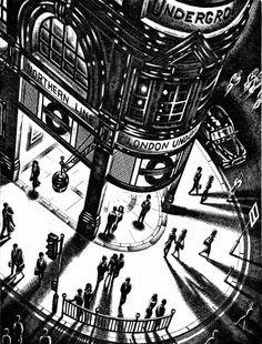 Catto Gallery | John Duffin Solo exhibition 2016 | Tube Shadows