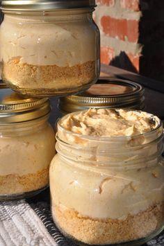 No-Bake Pumpkin Cheesecake in a Jar!