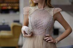 PATRICIA BONALDI DRESS AND CLUTCH(image: theblondesalad)