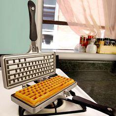 STRG ALT Nasch-Leidenschaft ENTFesselt: #Waffeleisen Tastatur