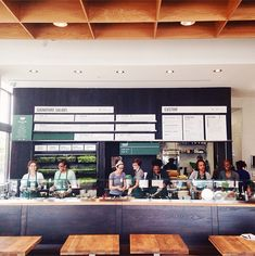 Sweetgreen Interior