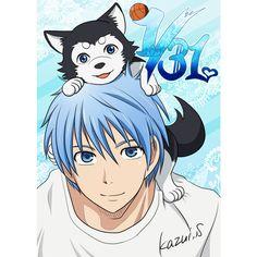 Feliz Cumpleaños Tetsuya Kuroko! ❤ liked on Polyvore featuring anime and kuroko no basket