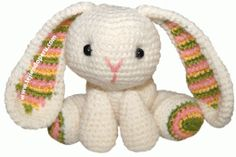 Amigurumi Rabbit - free crochet pattern - Free Crochet Bunny Patterns - The Lavender Chair