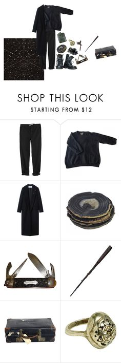 """sirius black"" by macamacarron ❤ liked on Polyvore featuring GG 750, Sandro, Goti, men's fashion and menswear"
