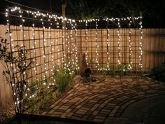 "Behind the ""outdoor room"" present you one collection of AMAZING DIY Outdoor and Backyard Lighting Ideas for the Garden on how to brighten outdoor space beautifully. For more inspiration, see our posts on AMAZING DIY Front Yard Landscaping Ideas … Backyard Projects, Outdoor Projects, Backyard Patio, Outdoor Decor, Outdoor Spaces, Party Outdoor, Backyard Designs, Pergola Patio, Outdoor Play"