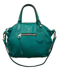Love this Grass Sadie Italian Leather Satchel by orYANY on #zulily! #zulilyfinds