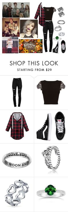 """Thanksgiving with Josh's family"" by mackenna-1 ❤ liked on Polyvore featuring Yves Saint Laurent, Coast, Vans, Primrose, Pandora, Bling Jewelry and Swarovski"
