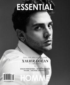 Photographer / Shayne Laverdiere Model / Xavier Dolan Publication / Essential Homme Year / 2015