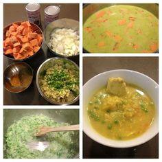 Spicy Thai Chicken & Sweet Potato Stew