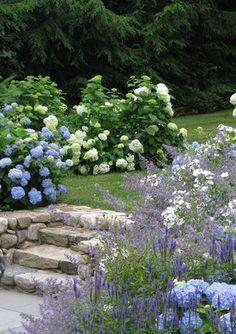 What You Can Do Yourself To Make Landscaping A Cinch - House Garden Landscape Garden Shrubs, Shade Garden, Garden Landscaping, Landscape Design, Garden Design, Parcs, Flowers Nature, Garden Styles, Garden Planning