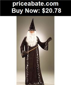 Men-Costumes: Merlin Wizard Robe Adult Costume - BUY IT NOW ONLY $20.78