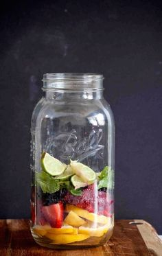 Big-batch sparkling lemonade sangria will be the hit of your next outdoor party