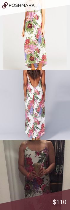 """EUC Turlington - Duchess Darling Obsessed with Turlington maxis (esp since they don't require hemming due to the hi-lo hemline...I can wear with flats or low wedges and I'm 5'4"""")!!! But have this print in too many styles so trying to be good. Bought this from another girl as NWOT and I haven't worn it since purchasing so it's in great condition! It's still on the site for $154! Lower on 🅿️🅿️ Show Me Your MuMu Dresses"""