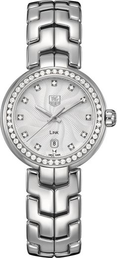 TAG Heuer Watch Link Diamond #bezel-diamond #bracelet-strap-steel #brand-tag-heuer #case-material-steel #case-width-29mm #clasp-type-deployment #date-yes #delivery-timescale-4-7-days #dial-colour-silver #gender-ladies #luxury #movement-quartz-battery #official-stockist-for-tag-heuer-watches #packaging-tag-heuer-watch-packaging #style-dress #subcat-link #supplier-model-no-wat1414-ba0954 #warranty-tag-heuer-official-2-year-guarantee #water-resistant-100m