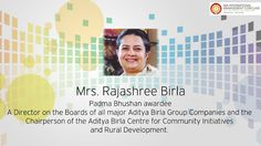 She is the driving force of Birla Group!  It would be certainly a pleasure to know how smoothly she handles such a huge organisation!  Register yourself for #IMAConclave14 to know the #management fundas that Mrs. Rajshree Birla(unofficial) will be sharing on 16th and 17th Jan 2014 Visit:- www.imaconclave.com/