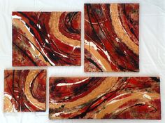 """""""Kupferring"""" - Variation Abstract Art, Painting, Food, Abstract, Kunst, Pictures, Painting Art, Essen, Paintings"""