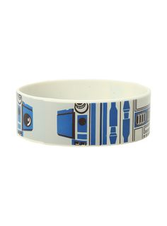 http://www.hottopic.com/product/star-wars-r2-d2-rubber-bracelet/10404850.html