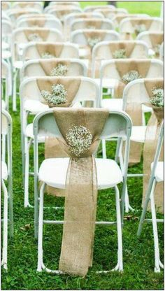 Are you planning a wedding upon a tight budget? look this list of creative wedding venue ideas for the ceremony and reception that will help you keep money. *** Find out more at the image link. Wedding Chair Decorations, Wedding Chairs, Wedding Centerpieces, Wedding Table, Fall Wedding, Wedding Ceremony, Rustic Wedding, Our Wedding, Wedding Venues