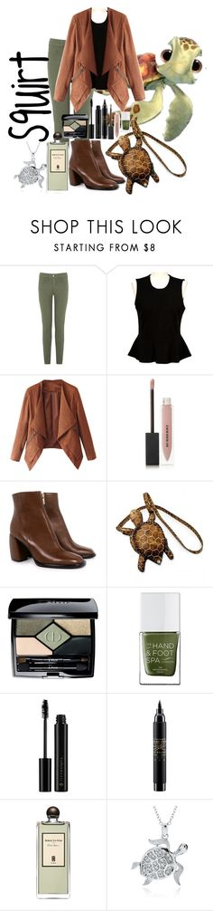 """""""Squirt"""" by kaylajames234 ❤ liked on Polyvore featuring Oasis, French Connection, Burberry, TIBI, NOVICA, Christian Dior, The Hand & Foot Spa, Illamasqua, MAC Cosmetics and Serge Lutens"""