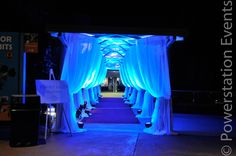 Walkway up to a Wedding