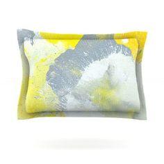 KESS InHouse Make A Mess by CarolLynn Tice Featherweight Pillow Sham Size: Queen, Fabric: Cotton