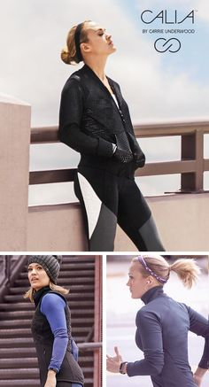 Layer up and head out in our Mesh Bomber Jacket, Quilted Vest and Warm 1/4-Zip Jacket | CALIA by Carrie Underwood