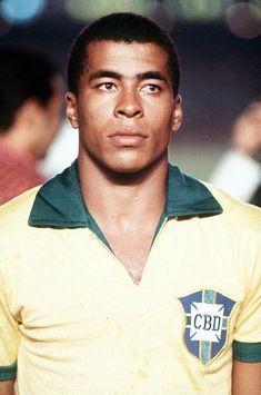 Jairzinho, one of the stars of the 1970 Brazilian World Cup winning team
