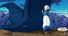 studio ghibli animated GIF