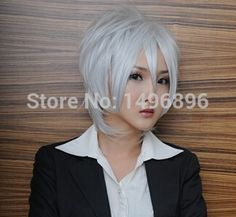 Find More Wigs Information about New Arrival Axis powers Hetalia Gilbert Short Sliver White Cosplay Party Hair Wig For Men Boys Free Shipping,High Quality cosplay hair wig,China cosplay panties Suppliers, Cheap cosplay school from Dream Wig on Aliexpress.com