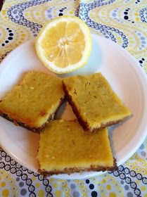 Stayin' Up With The Stanwees: Birthday Treat Week: Paleo Lemon Bars