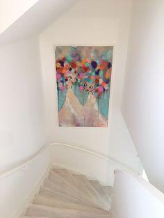 Min konst hemma hos kunder   Karolina Palmér
