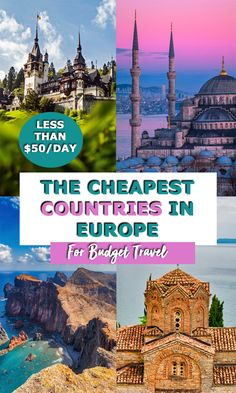 18 of the Cheapest Countries in Europe For Travel in 2019 - The Globetrotter GP. , 18 of the Cheapest Countries in Europe For Travel in Top Travel Destinations, Europe Travel Tips, Best Places To Travel, Budget Travel, Cool Places To Visit, Travel Guides, Travel Info, Travel Hacks, Travel Deals
