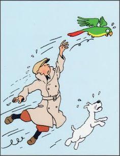 tintin, Hergé