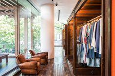 visvim flagship store and little cloud coffee, Tokyo – Japan » Retail Design Blog