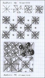 Tangle pattern: ZAADHOORN